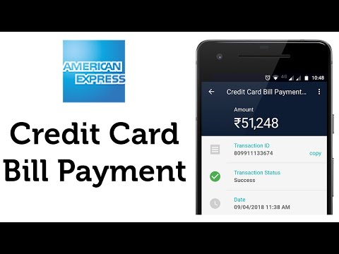 American Express (AMEX) Credit Card Bill Payment In Real-time