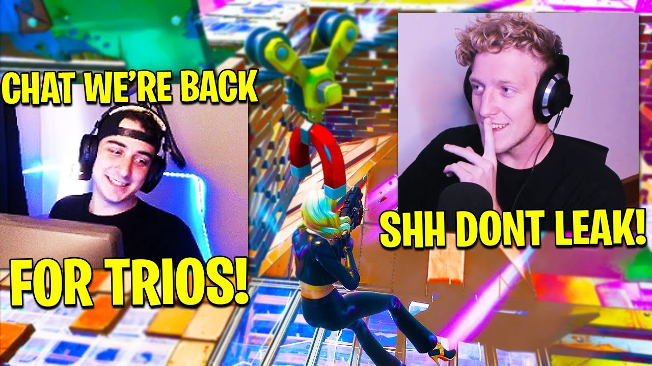 TFUE & CLOAKZY RETURN AS TRIO! BUGHA ANGRY w/ EPIC GAMES! (Fortnite Season 3 Chapter 2)
