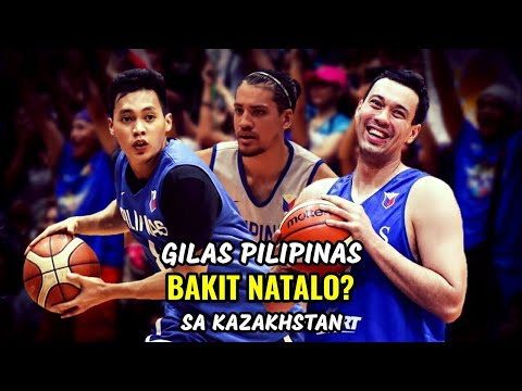 Gilas Pilipinas BAKIT NATALO sa Kazakhstan? | 2019 FIBA World Cup Asian Qualifiers
