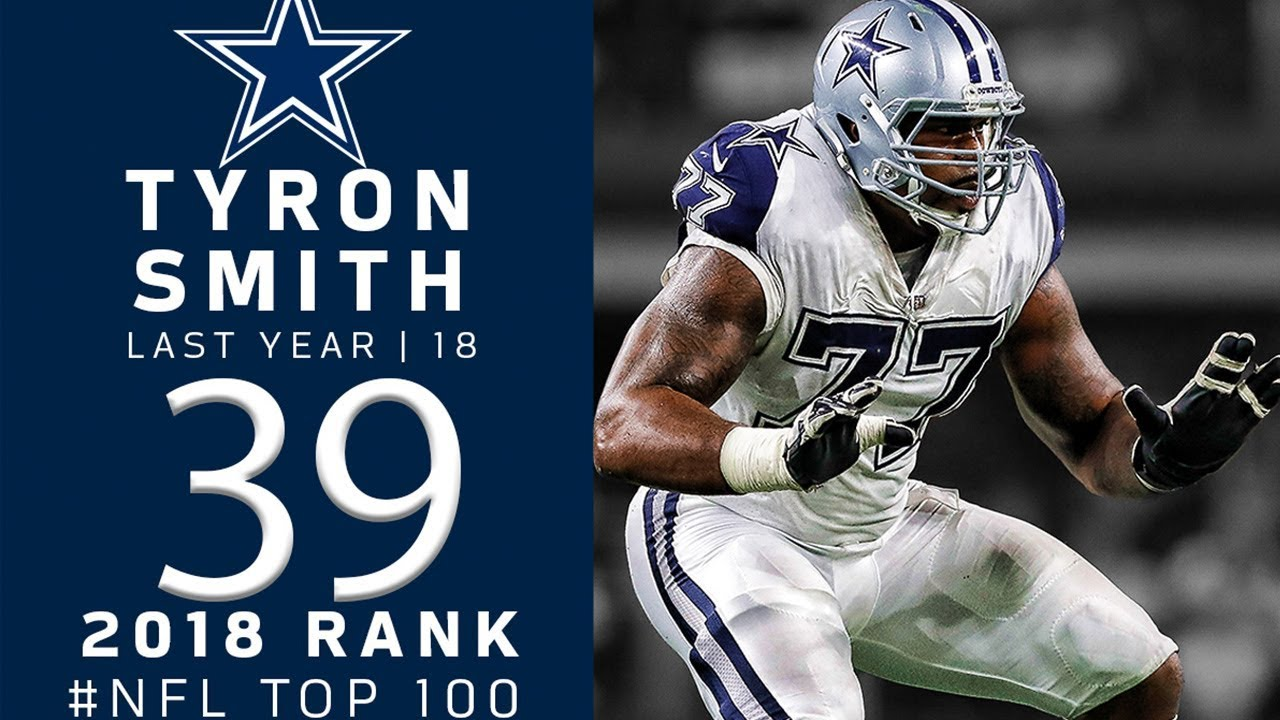 super popular 571ce 17420 #39: Tyron Smith (OT, Cowboys) | Top 100 Players of 2018 | NFL
