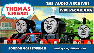 Фото Thomas \u0026 Friends | Gordon Goes Foreign - Narrated By Sir John Gielgud