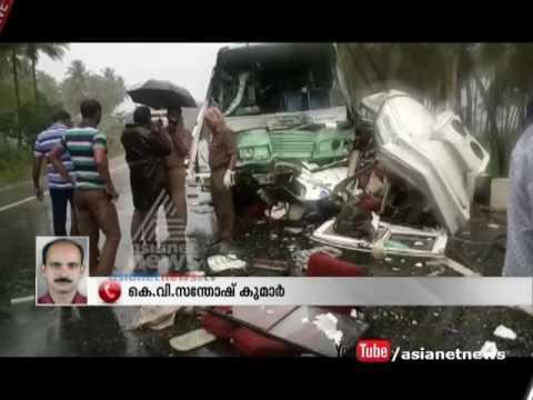 Car accident Six from Idukki killed in Tamil Nadu two injured    FIR 25 July 2016