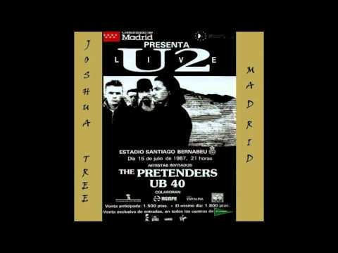 U2 - The Joshua Tree Tour - Joshua Tree Madrid (1987/07/15)