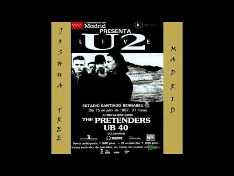 U2 - The Joshua Tree Tour - Joshua Tree Madrid (1987/07/15)