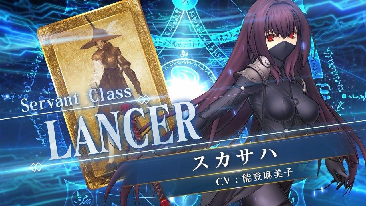 『Fate/Grand Order Arcade』サーヴァント紹介動画 スカサハ(ランサー)