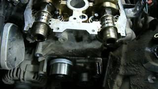 Opel Astra (Z16XER) - Ауыстыру, ГРМ тісті доңғалақ (фазаларымен).