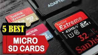 5 Best Micro SD Cards 2018 | Best Micro SD Cards Reviews | Top 5 Micro SD Cards
