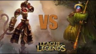 Wukong vs Jax Top Lane - Gặp Jax cứ pick Wukong Nhé Ae
