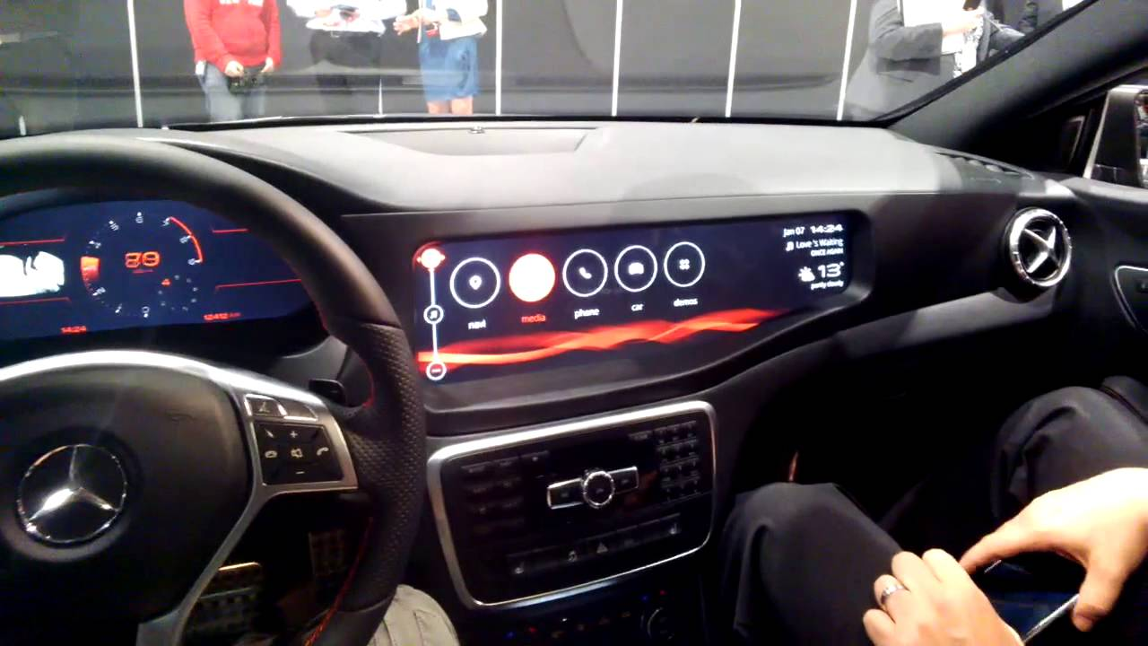 Qnx Car Infotainment System At Ces 2014 Throughglass
