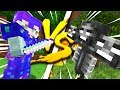 Minecraft: MY GIRLFRIEND IN FULL ULTIMATE ARMOR VS THE WITHER - WHO WINS?! - Crazie Craft Ep: 05