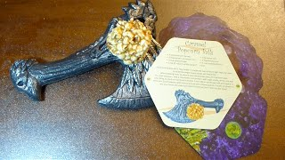Giveaway - Sneak Peek To October Halloween Subscription Cards - Caramel Popcorn Balls Recipe