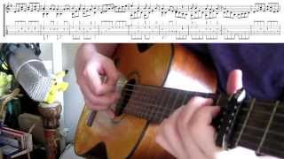 Pokémon Theme Tune arranged for Classical Guitar || Syd R Duke