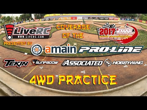 2017 IFMAR Electric Off-Road Worlds - 4WD Practice Day (morning)