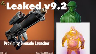 Fortnite 9.2 Leaked Skins, Weapons, Axes, and MORE!