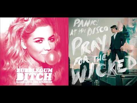 Fuck A (Bubblegum Bitch) - Marina and the Diamonds & Panic! At The Disco (Mashup)