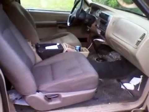 Changing Seat In 2003 Ford Explorer Sport Xlt Youtube