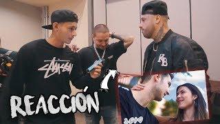 JBALVIN Y NICKY JAM REACCIONANDO A NUESTRA CANCIÓN Video