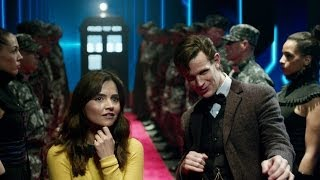 Repeat youtube video DOCTOR WHO Christmas Special *Exclusive Extended BBC AMERICA Trailer* - The Time of The Doctor