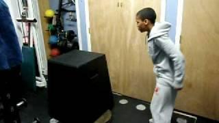 8th Grade football player hits 35