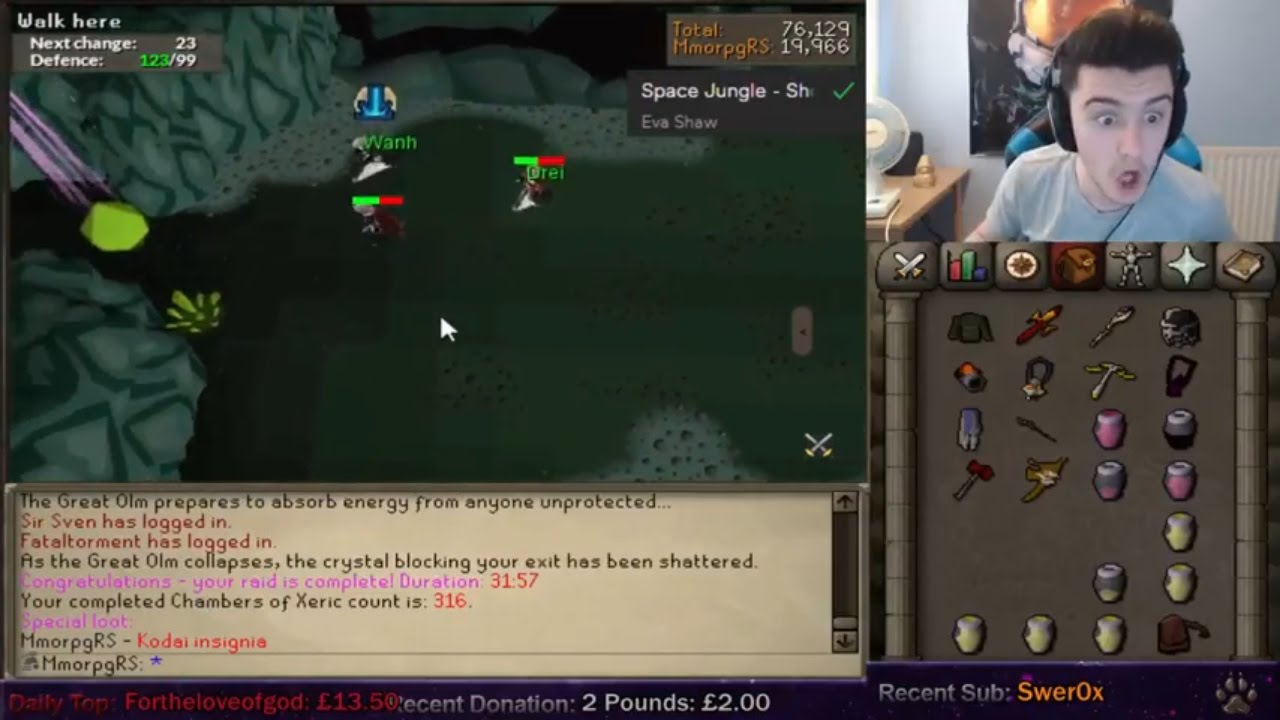 Mmorpgrs Gets His 1st Kodai Wand L Best Of Runescape Twitch Moments