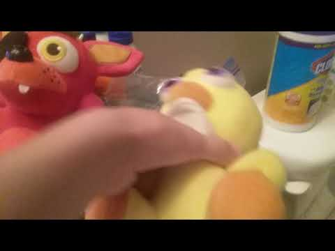 How to wash your FNaF plushies