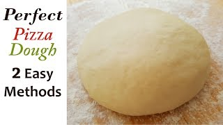 Pizza   Pizza Dough Recipe   How to Make Pizza Dough or Base   Aliza Bakery