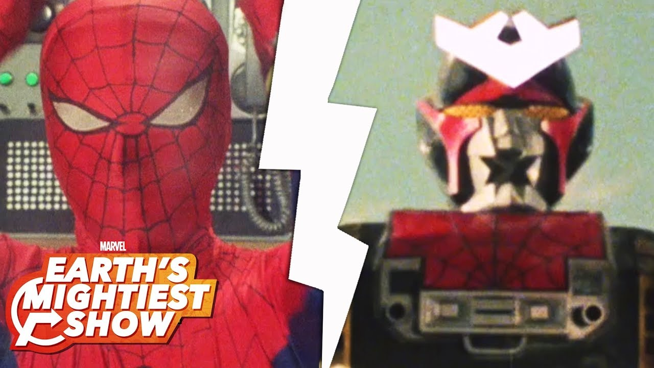 The giant robots of the 1970's Japanese TV Spider-Man | Earth's Mightiest Show Bonus