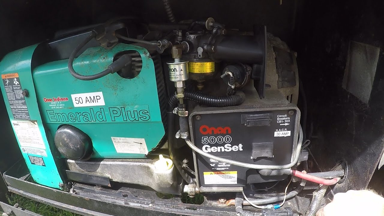 need your help with my generator problem youtube rh youtube com Old Onan Generator Parts Onan Generator Service