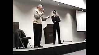 Andrew Robinson and Alexander Siddig West Virginia Day 2 November 2000