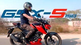 SUZUKI GSX-S 150 USER REVIEW || 0-100 KM/H TEST || Wannabegump
