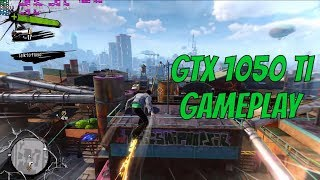 Sunset Overdrive (PC) - GeForce GTX 1050 Ti Gameplay/Benchmark