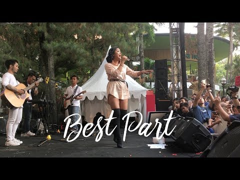 Marion Jola - Best Part (Live At Ciwalk, Bandung)