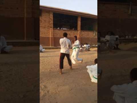 Martial arts in Kumasi Ghana