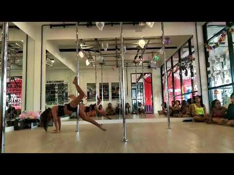 Secret of Love Song pole dance by Paula