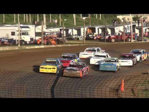 USRA Hobby Stock Heats Upper Iowa Speedway 5/28/17
