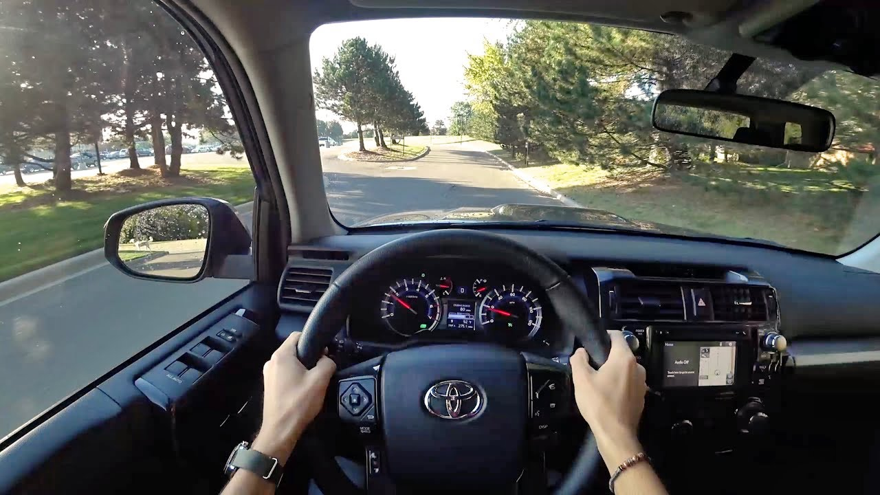 4Runner Trd Off Road >> 2017 Toyota 4Runner TRD Off-Road - POV City Drive ...