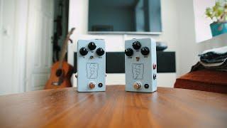 JHS Pedals SuperBolt V1 VS SuperBolt V2 (comparison)