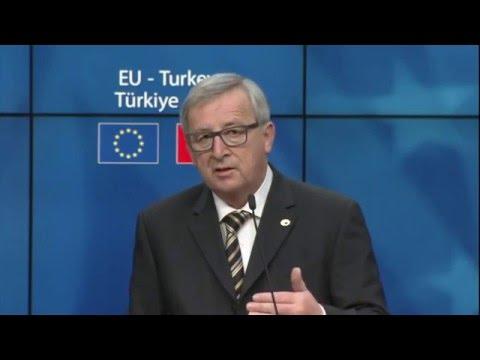 EU-Turkey summit 7/3/2016, press conference