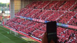 Oh City Ground (Mull of Kintyre) Forest vs Millwall - 4th August 2017