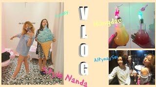 VLOG Style Nanda и лимонад в лампочке - AltynaySei