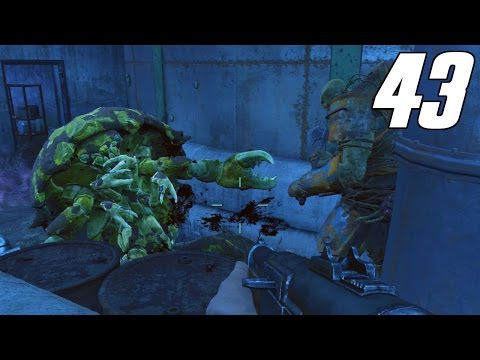 Fallout 4 Gameplay Part 43 - Weston Water Treatment Plant