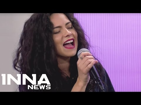 INNA - Gimme Gimme  (Acoustic Live) | First time live at TV in Chile