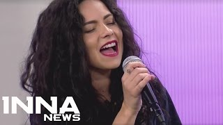 INNA - Gimme Gimme  (Acoustic Live)   First time live at TV in Chile