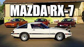 Mazda RX-7 FB 1985 (PL) - klasyk z silnikiem Wankla - test i jazda próbna