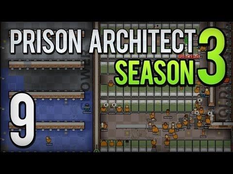 Prison Architect - S3 E9 - Pimp My Prison! - Gameplay & Commentary