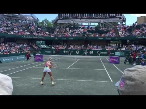 Angelique Kerber and Madison Keys