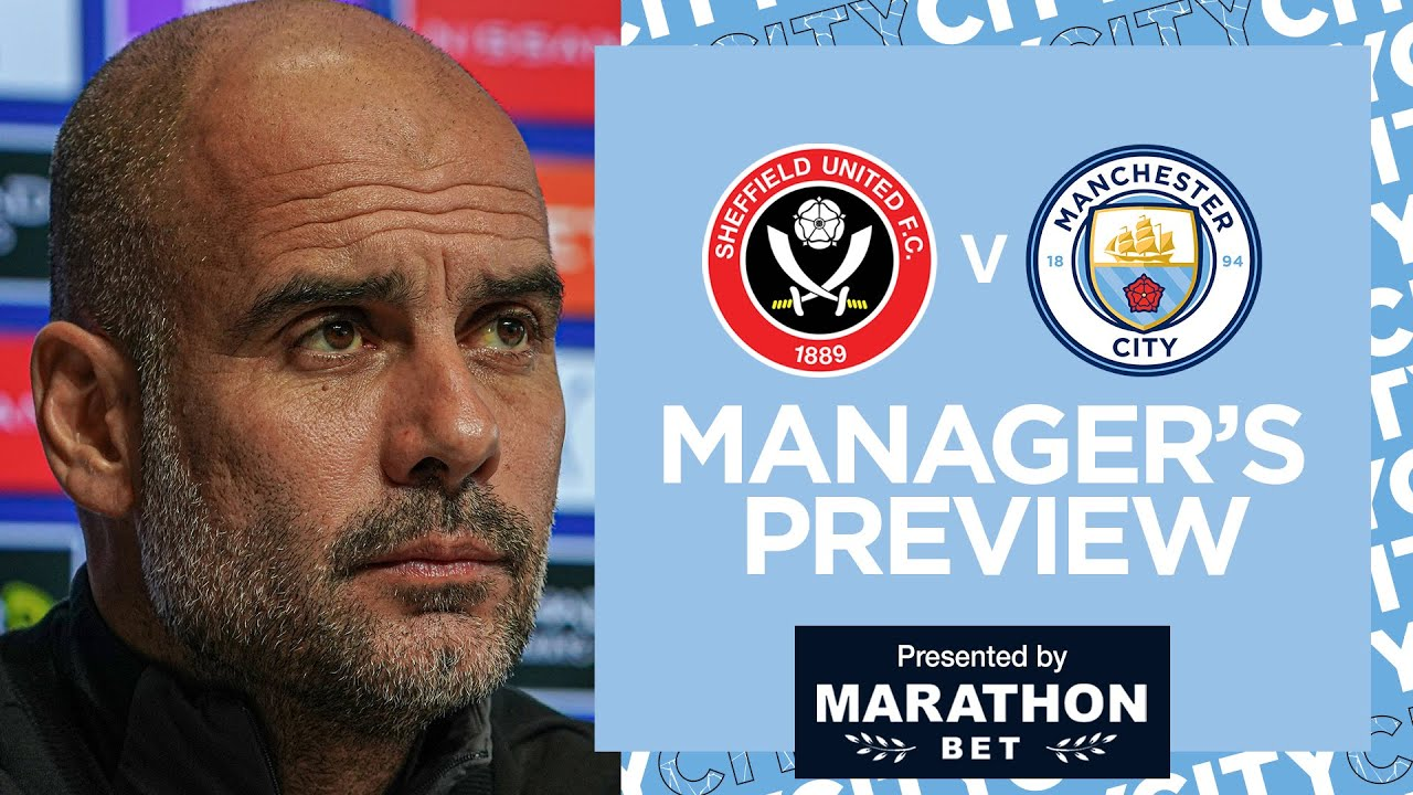 Pep Press Conference | Sheffield Utd v City | Pep on Kyle Walker & More!