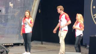 Hermes House Band FEYENOORD - I WILL SURVIVE -  Rotterdam Live at Kuip Open dag 2015