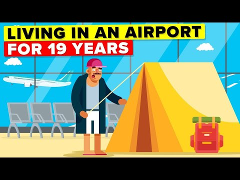 Man Lives 19 Years In Airport - Why? (True Story)