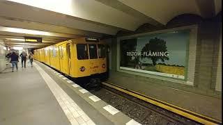 U-bahn bvg class a3l taken at viktoria-luise-platzthe was oldest train in berlin, germanysome type of has been retire,it build...
